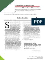 Newsletter 11.º Ano - Leitura e Gramática_final