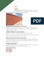 Muros Perimetrales