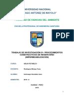 TRABAJO DE INVESTIGACIÓN 01 - PROCEDIMIENTOS CONSTRUCTIVOS DE RESERVORIO (IMPERMEABILIZACION).docx