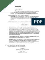 Statutory Construction Effect of Statutes