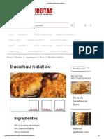 Bacalhau Natalino Boa