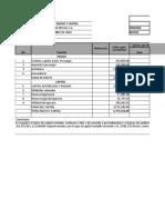 Solución Auditoría Capital Contable 2019