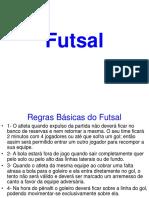 Regras Basicas e Sistemas No Futsal