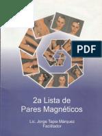 Lista de pares magneticos