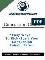 Concussion eBook 2019- Mario Starnino