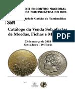 Catálogo Moedas
