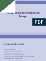 POLITICAS DE GRUPO