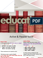Active and Passive Voice Agus
