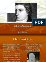 Keats Ode to a Nightingale.ppt