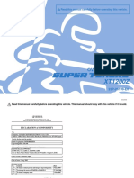 2011Yamaha Super Tenere XT1200Z Owners Manual