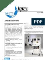 Anesthesia Units