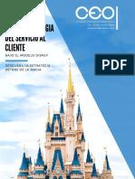 Folleto Calidad en El Servicio Al Cliente Bajo El Modelo Disney