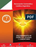Modulo 7 Discernimiento de Espiritus Eclesial y Comunitario