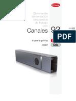 Canaletas Unex