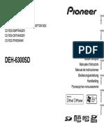 Pioneer Deh-6300sd Manual ESP