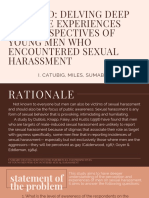 thesis ppt male sexual harassment