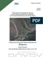 Sistema de Aducción CH Machupicchu II -- Plan de Manejo Ambiental -- Rev.02