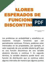 VALORES ESPERADOS DE FUNCIONES DISCONTINUAS.pptx