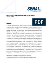 PAPER Gestão do Capital de Giro