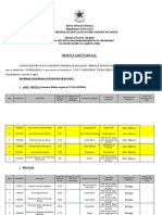 Resultado Parcial Edital 03 2019