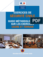 exercice securite civile