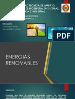 Energias Renovables Durán Santana
