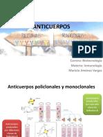 UNIDAD VI Anticuerpos Policlonales y Monoclonales