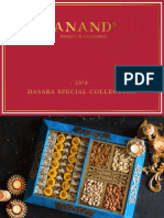 Dasara sweet collectionsmenu list