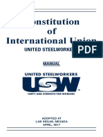 United Steelworkers 2017 Constitution