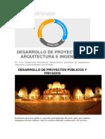 Desarrollo de Proyectos de Arquitectura e Ingeniería
