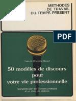 50 models de discours