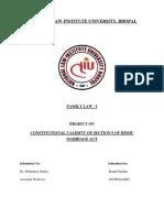 Family Law I, Synopsis, Ronak