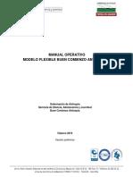 Manual Modelo Flexible BCA Versión Preliminar