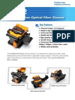 KF-52 Optical Fiber Cleaver