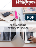 Cuadro Mando Integral-Balance Scorecard