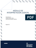 Interpretacion Judicial