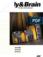 [Welding] ESAB Brochure XA00099320; Body & Brain - The New Aristo System Brochure, 12 Pages)