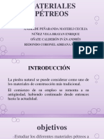 MATERIALES PÉTREOS. (1)