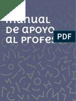 Manual de Apoyo Al Profesor