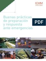 ICMM - Buenas Prácticas Preparación y Respuesta Ante Emergencias PNUMA (2005, ESP)
