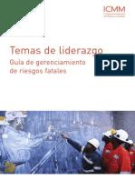 ICMM - Guía de Gerenciamiento de Riesgos Fatales (2011, ESP)