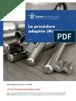 Les procédures adaptées (MAPA) dans les marchés publics