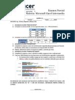 Examen Excel Intermedio 2019