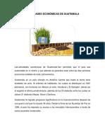 Actividades desde el punto de vista de guatemala