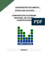 Metodologia Tablas de Retención Documental Oct2015