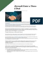 SAP & Microsoft deal