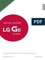 Manual de lg g6