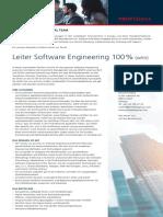 Leiter SoftwareEngineering Urdorf