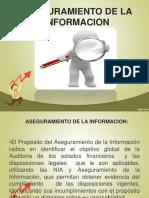 Asegurameinto de La Informacion