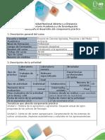 Guía Para El Desarrollo Del Componente Práctico - Intro Agronomia